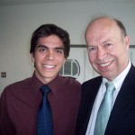 Deputy Supervisor Frongillo with top NASA climate scientist James Hansen