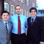 Deputy Supervisor Frongillo with County Legislator Nathan Shinagawa and Mayor Svante Myrick